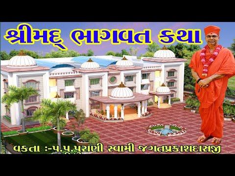 Part 11 SHRIMAD  BHAGWAT KATHA   PURANI SWAMI JAGATPRAKASH DASJI DABHAN