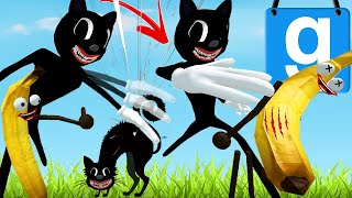 KILLER CARTOON CAT ARMY! (Garry's Mod SCP Build to Survive) with Mr Gibbs | JustJoeKing