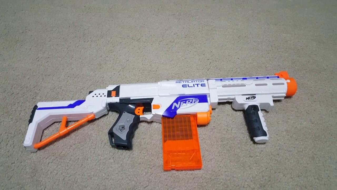Retaliator nerf gun - Correct way to reload/esemble