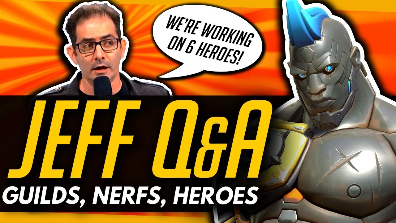 Overwatch | DOOMFIST NERF + Future GUILD / CLAN SYSTEM [Jeff Questions &  Answers]