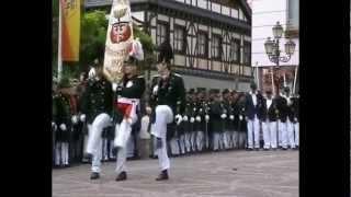 Parade der Junggesellen Fronleichnam 2002