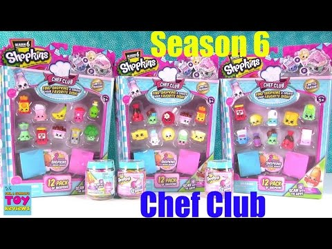 Shopkins Chef Club Season 6 12 2 Pack...
