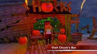 Playstation Home Halloween Island