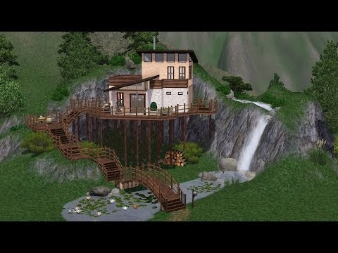 Sims 3 - Making of... Mountain House