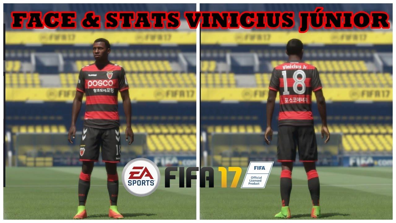 Vinicius Junior Fifa 17