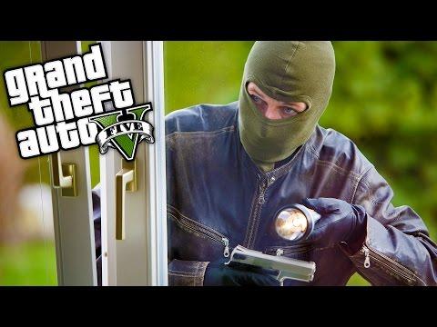GTA 5 GERÇEK HAYAT ! - Hırsız Yakaladık! #3 (Haydar'ın Hayatı!)