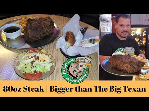 80oz Steak Challenge | Main Street Saloon Smokehouse | Akron Ohio