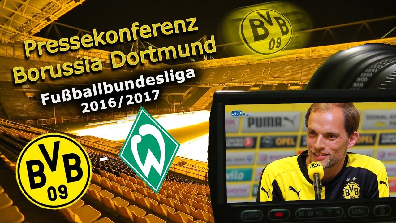 Borussia Dortmund - SV Werder Bremen: Pk mit Thomas Tuchel