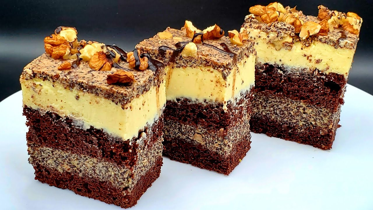 ❤НОВИЙ пляцок КАСАБЛАНКА Сирник з маком Сырник 🍫Шоколадный торт CHOCOLATE cake Cheese Cream