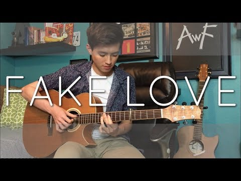 BTS (방탄소년단) - Fake Love - Cover (Fingerstyle guitar)