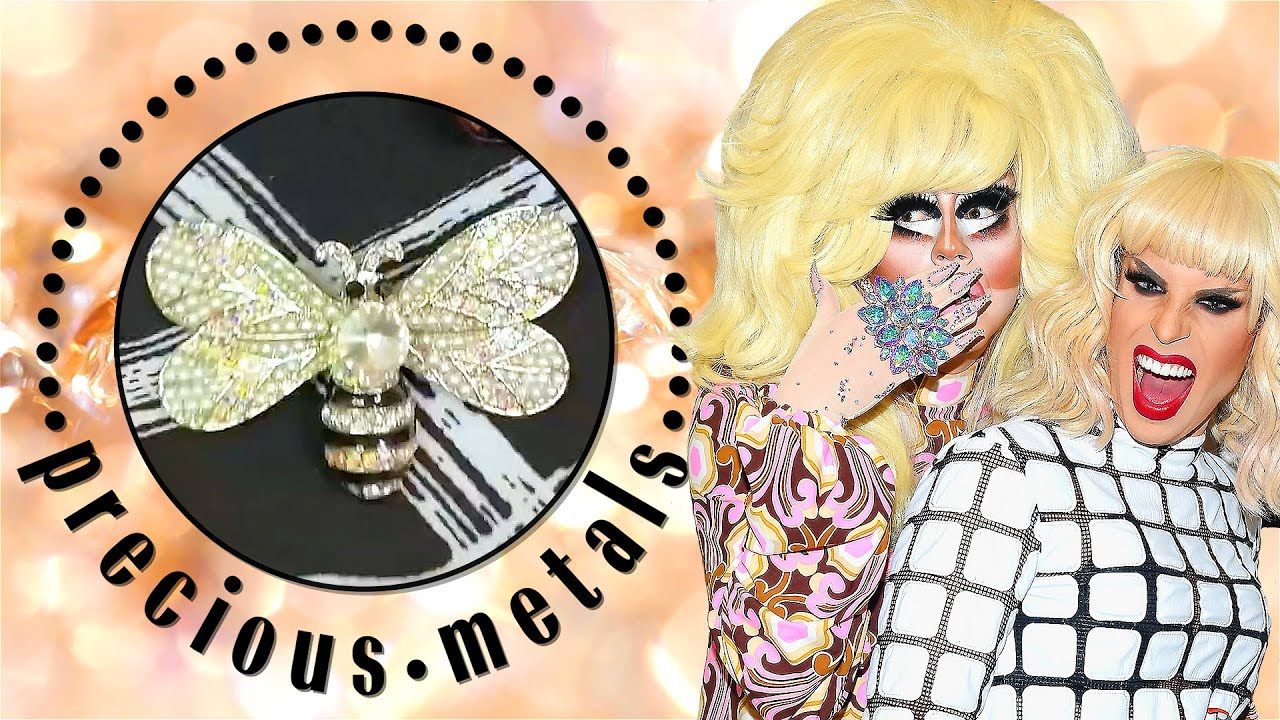 Trixie Mattel & Katya Show Off Their Most Fabulous Jewelry | Precious Metals | Marie Claire