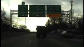 Dump truck ramming plays out like cop reality TV show