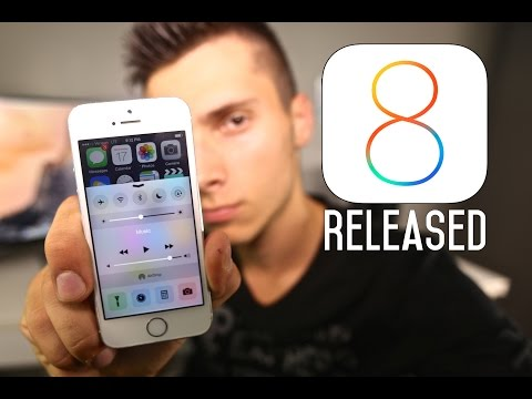 IOS 8 Released - What's New Introduction