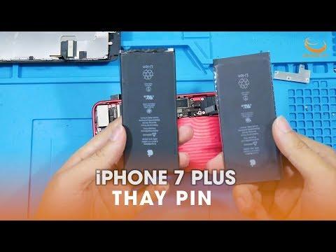 Hướng dẫn thay pin iPhone 7 Plus chính hãng