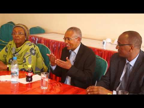 SOMALILAND FOREIGN MINISTRY HOSTED HONORABLE  LAUNCH  12 AMBASSADORS