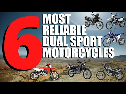 6 Most Reliable Dual Sport Motorcycles For Off Road Traveling