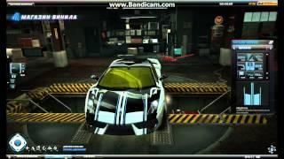 Представляю тест винила на машине:Lamborghini Galardo NFS WORLD
