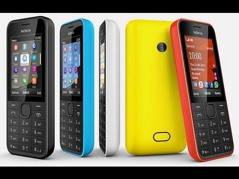 Nokia 208 обзор
