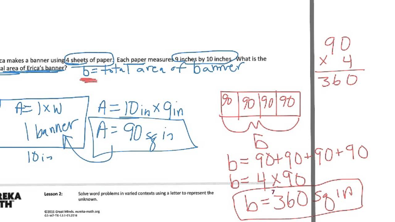 hight resolution of Solve Word Problems In Varied Contexts (video lessons