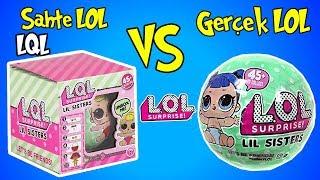Çakma Lol Bebek vs Orjinal Lol Sürpriz Challenge! | 2. Sezon 2. Seri LİL Sister | Bidünya Oyuncak