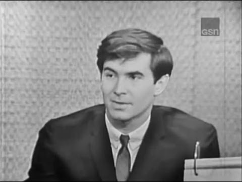 What's My Line? - Anthony Perkins; Phyllis Newman [panel]; Peter Ustinov [panel] (Feb 17, 1963)