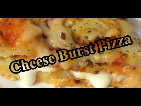 Easy To Cook Cheese Burst Pizza At Home Recipe