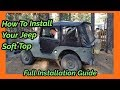 Gambar cover How To Install Your Jeep Soft Top - Full Installation Guide For BesTop