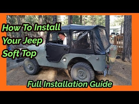 How To Install Your Jeep Soft Top - Full Installation Guide For BesTop