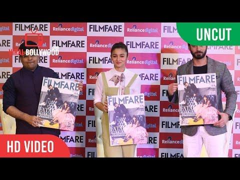 UNCUT - Filmfare Magazine Cover Launch | Alia Bhatt, Fawad Khan | Viralbollywood