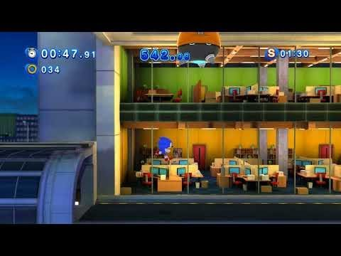 Sonic Generations (PC): All Speed Highway Classic Challenge Acts (S-Ranks)