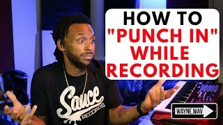 How to Record in Pro Tools Using Quick Punch | Recording and Editing Tips