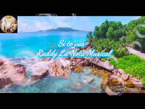 """Si Te Vas"" Reggaeton latino 🍓Raddy La Nota Musical 🐱🐱🏝video lirico"