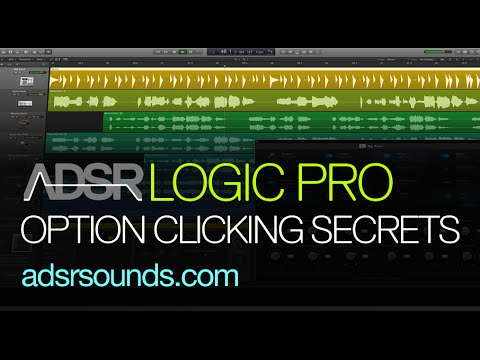 Logic X Tutorial - Option Clicking Secrets