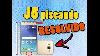 Celular J5 com TELA PISCANDO - Como Resolver isso? - J7 também pode apresentar esse problema!