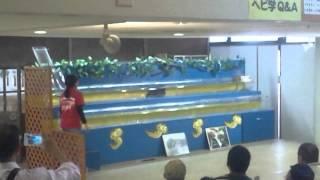 おきなわワールドにてマングースvsウミヘビの水泳競争を見てきました ...