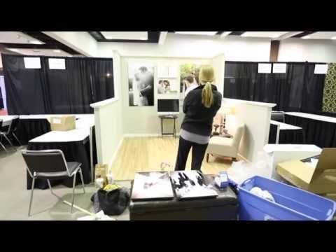 Bridal Show Booth Display Hard Walls Youtube