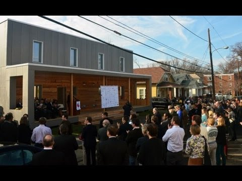 DC Builds Energy Neutral Solar Powered House - TYT Community