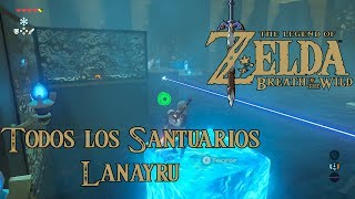 The Legend of Zelda Breath of the Wild - Todos los Santuarios #05 (Torre de Lanayru) 29-37