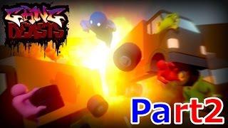 大乱闘アカアオブラザーズ - Part2 - Gang Beasts thumbnail