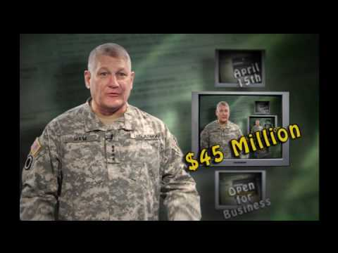 USAREUR Tax Fact #5 Gen Carter Ham, Commander US Army Europe
