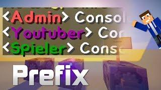 PREFIX in vanilla Minecraft (Servergruppen) - [Deutsch/HD]