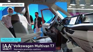 Volkswagen Multivan T7 2021 - V živo iz avtosalona IAA Mobility Munich 2021