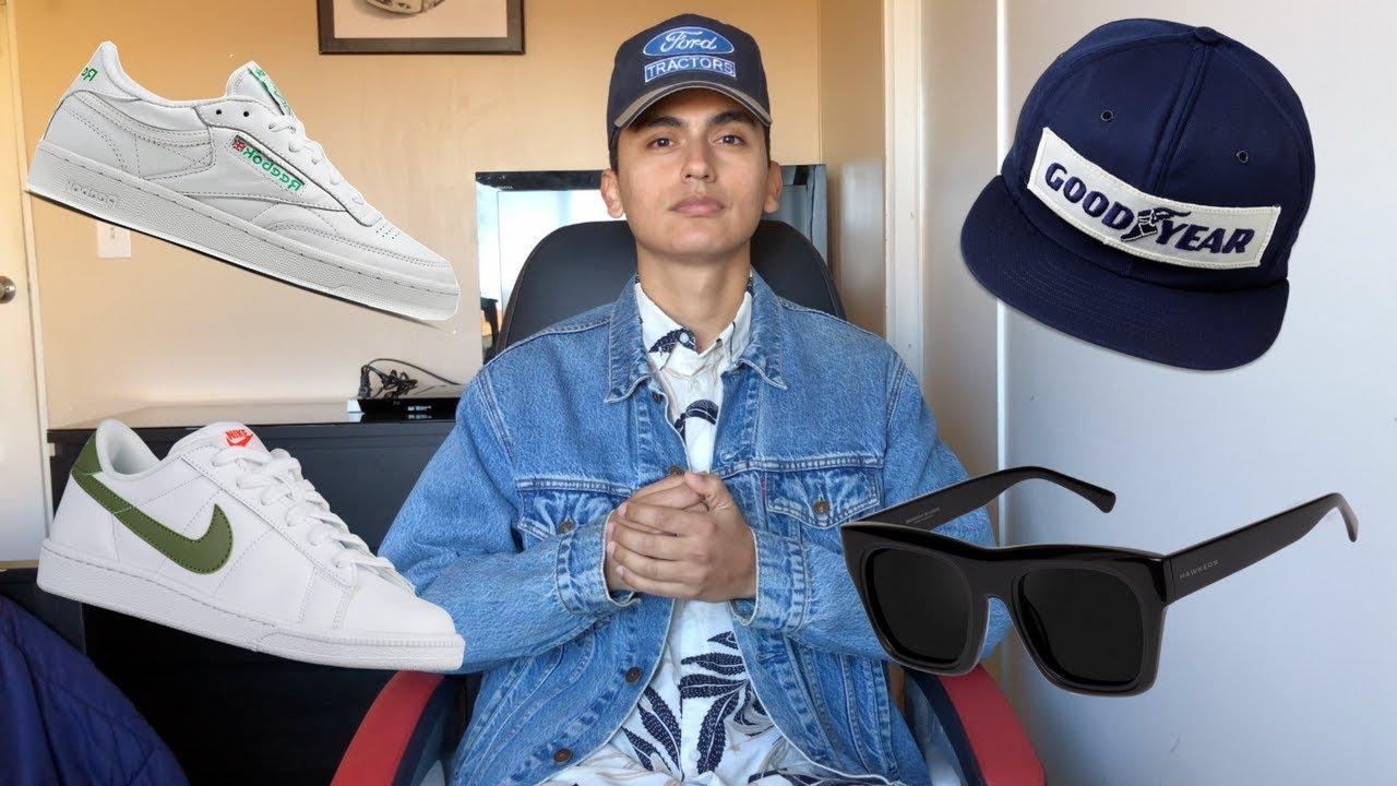 49ff9b4a MY SUMMER STREETWEAR ESSENTIALS 2018! (Sneakers, Sunglasses, Hats & More!