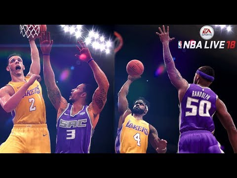 NBA LIVE 18 THE ONE CAREER MODE - SLAM DUNK COMPETITION DUNKS MID GAME! MOST ATHLETIC PLAYER BUILD