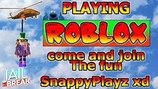 ROBLOX JAILBREAK! Live Stream Playing Roblox Jailbreak... ( 18/11/2018 )   🔴 LIVE