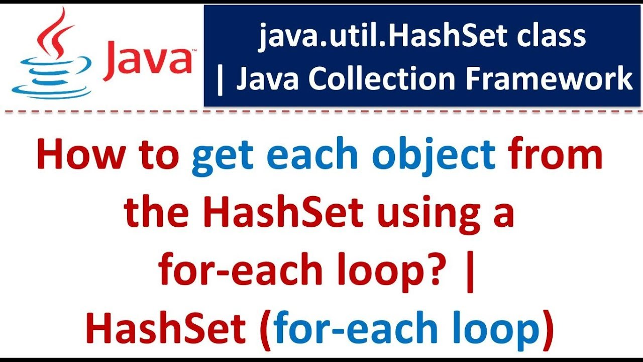 how to use foreach loop in java