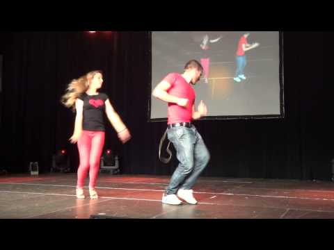 Bachata Men & Lady Style with Korke & Judith at PBF 2012