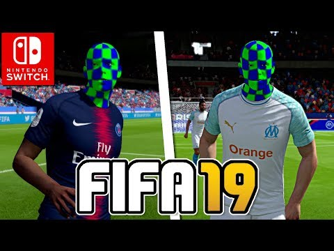 UN MATCH COMPLETEMENT WTF ! | FIFA 19 NINTENDO SWITCH CO-OP FR