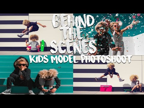 BEHIND THE SCENES / KIDS MODEL PHOTOSHOOT