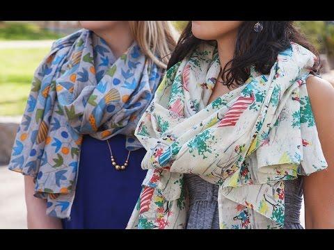 SophiaCostas - Handcrafted Cotton Scarves